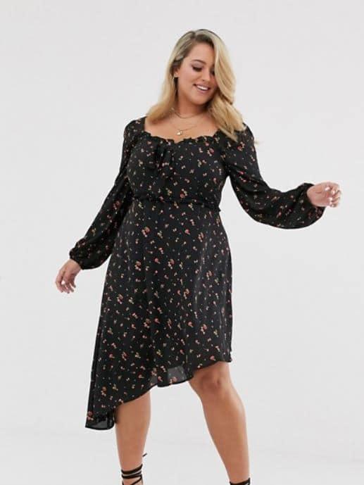 femme ronde avec hanche quelle robe choisir