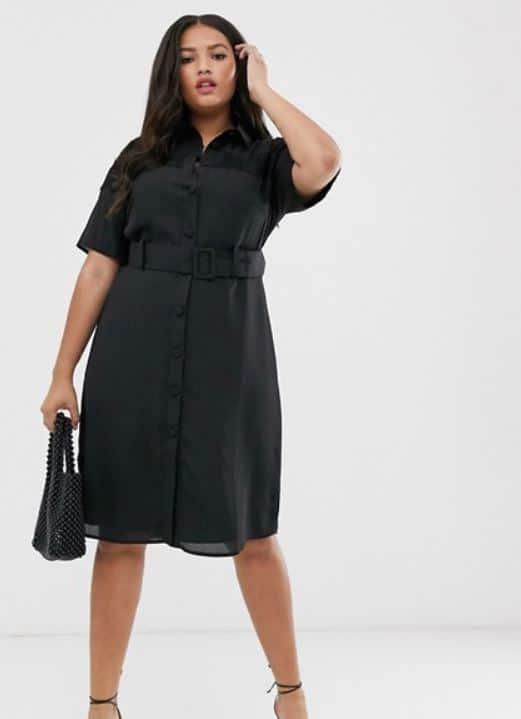 femme ronde quelle robe avec grosses hanches