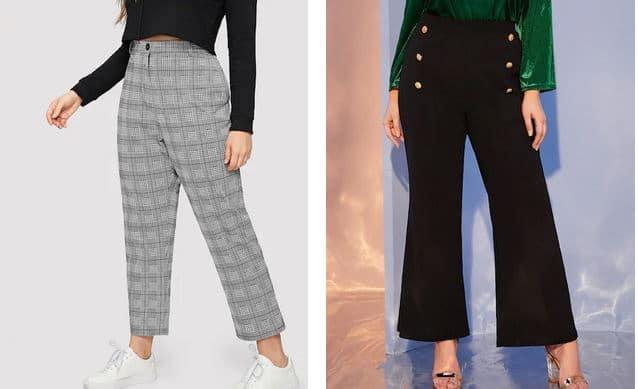 pantalon femme ronde morphologie en O