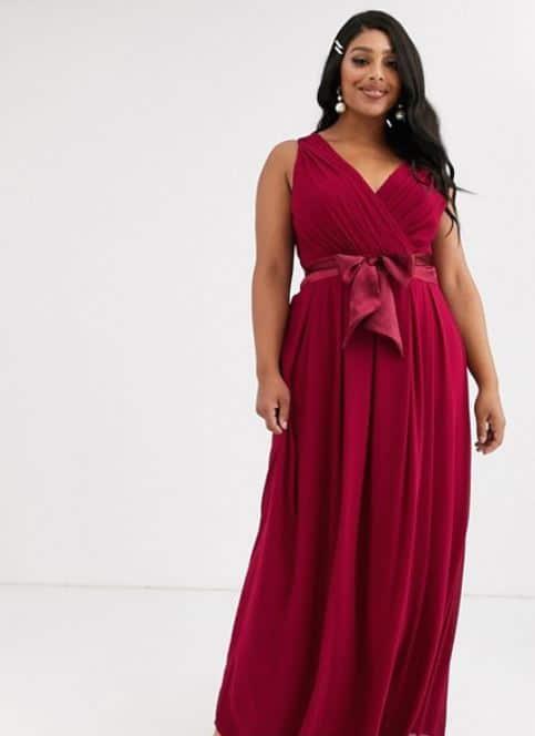 robe de cocktail femme ronde chic