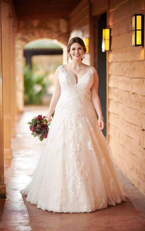 robe de mariee curvy femme ronde