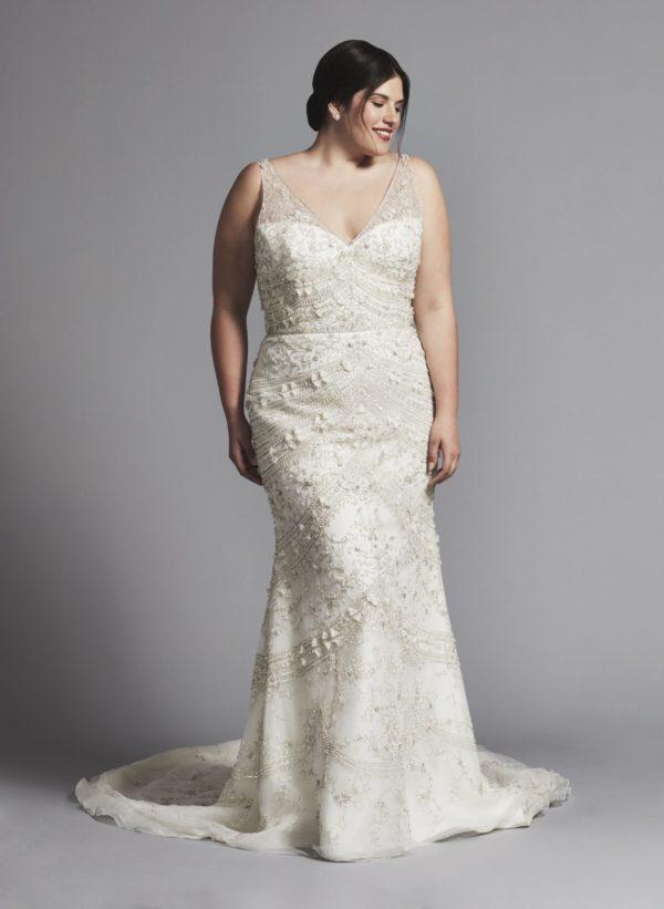 robe de mariee grande taille sirene