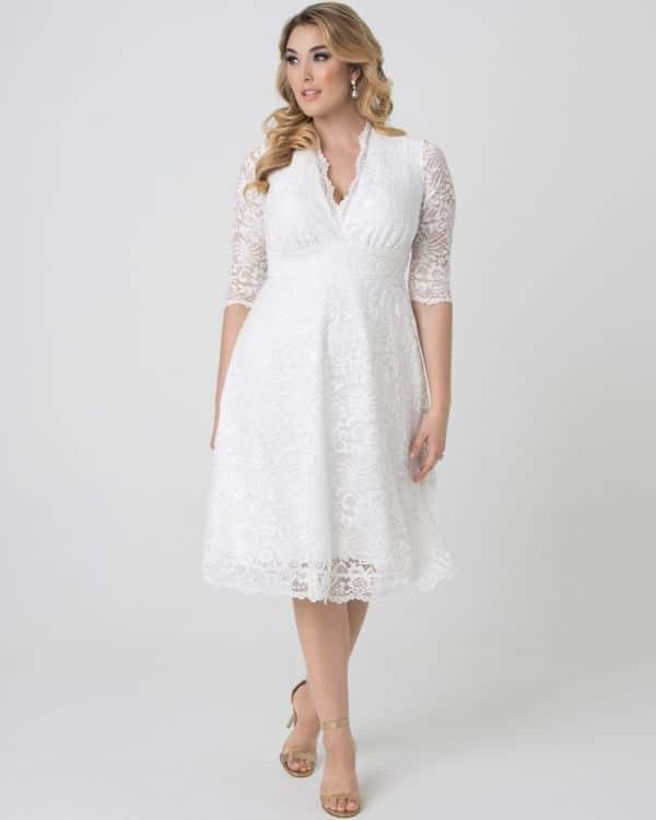 robe de mariee ronde et petite