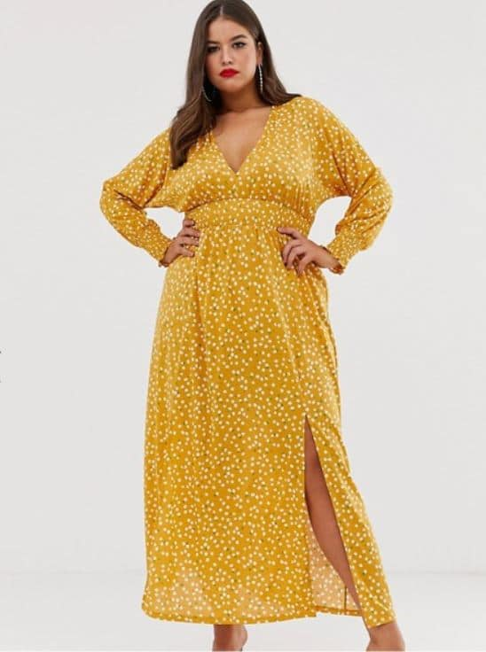 robe longue grande taille femme ronde