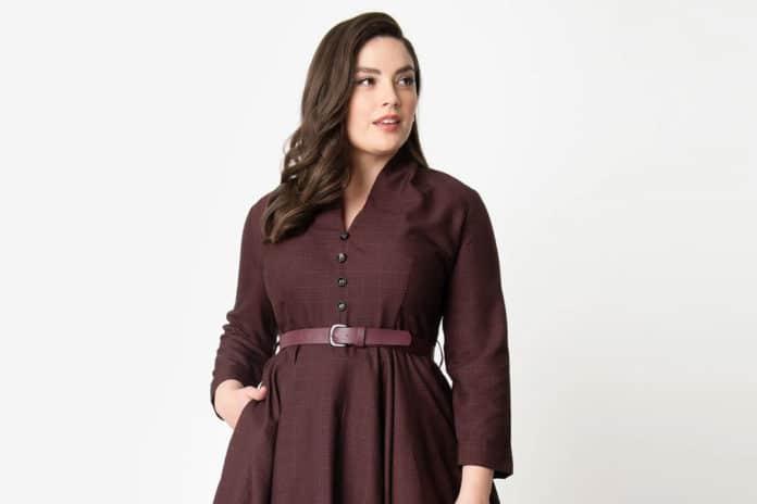 robe vintage grande taille annees 50 swing 2