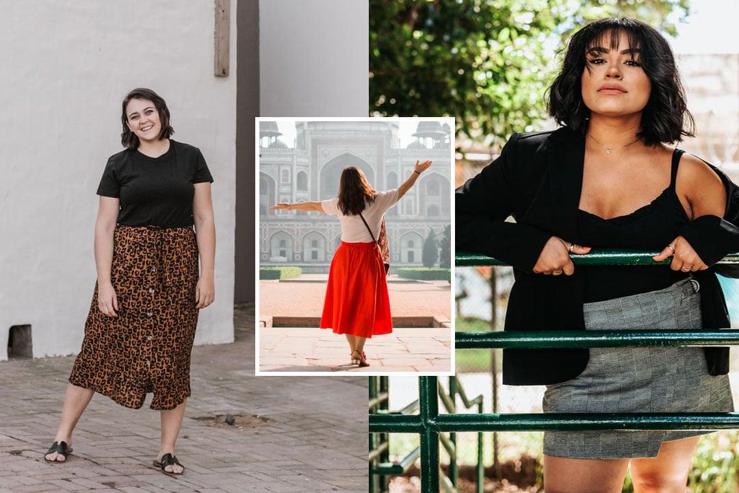 Quelle jupe grande taille quand on est ronde ? Conseils