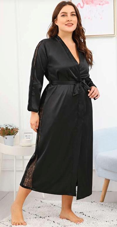 Robe de chambre femme grande taille : stylée et trendy