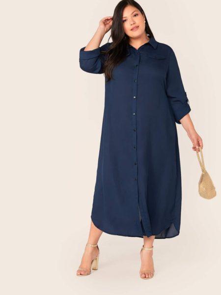 Robe longue grande taille: comment la porter avec style? Conseils, idées looks, et erreurs à éviter