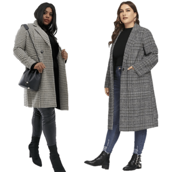 Manteau femme grande taille : bien le choisir et être
