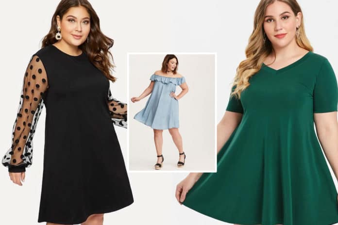 robe trapeze grande taille comment choisir