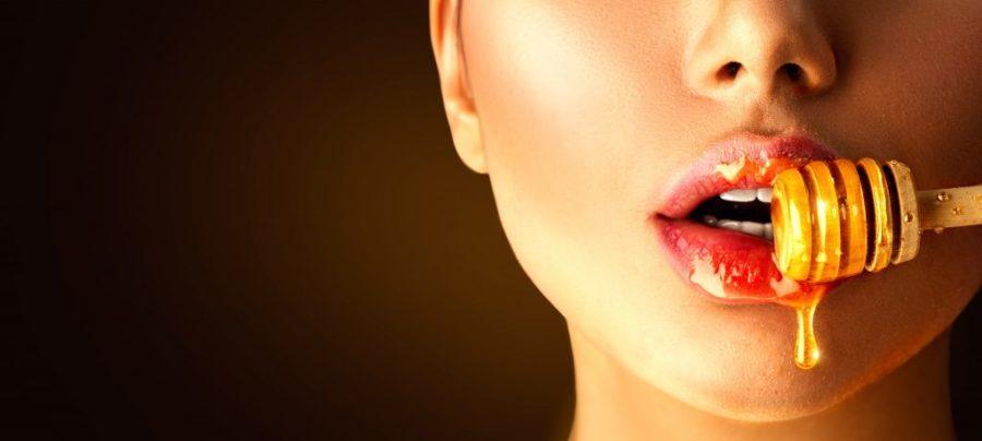Lèvres au miel