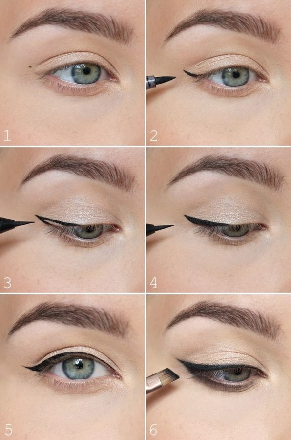Application eye-liner