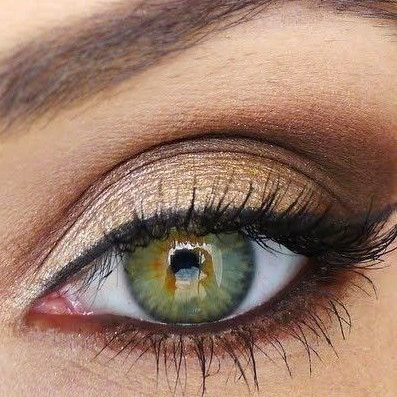 Comment maquiller Yeux verts