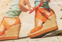 Des sandales compensées confortables quand on est ronde on dit oui (4)