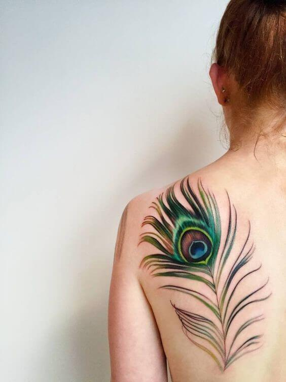 belles idées tatouages plumes maat