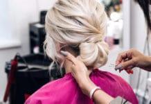 coiffure de mariage cheveux mi longs