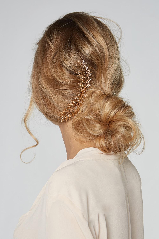 barrette cheveux chignon