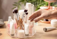 idees rangement maquillage et vernis