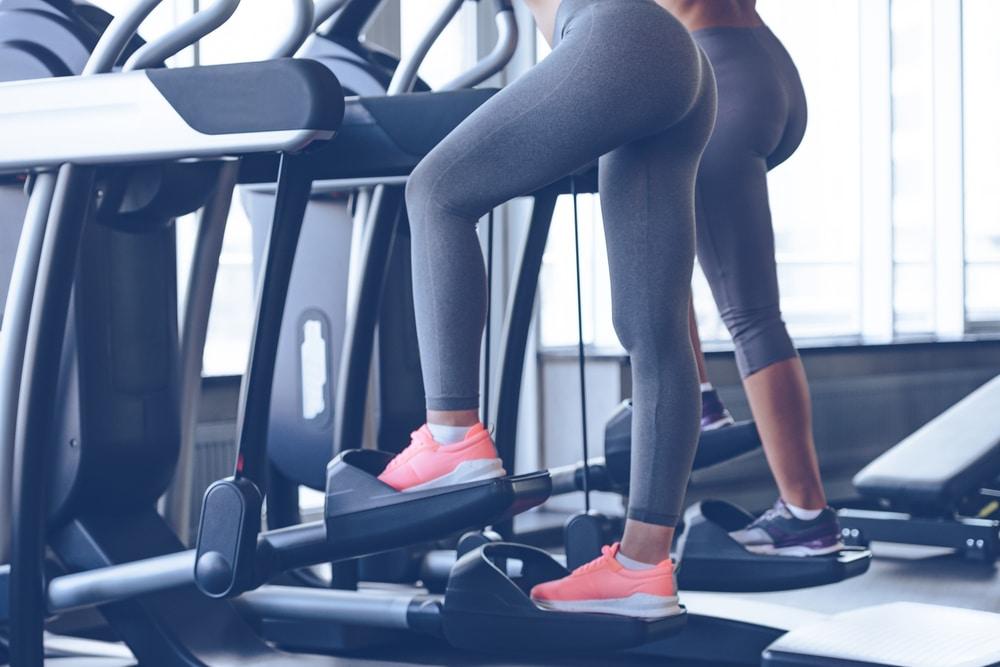 exercices stepper femme