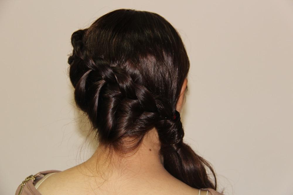 coiffure stylée pour travailler