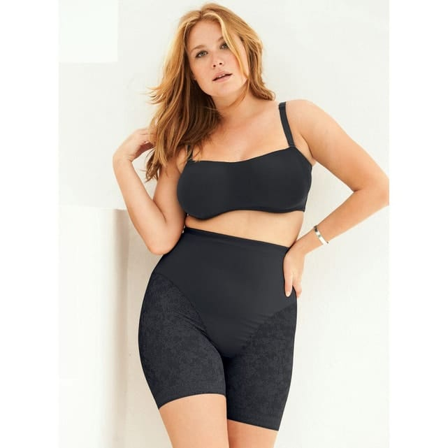 panty grande taille noir