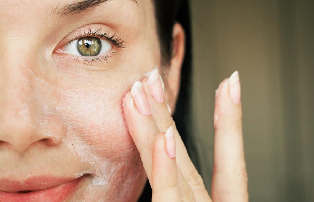 soigner peau granuleuse