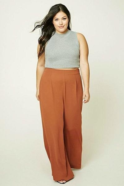 pantalon femme ronde