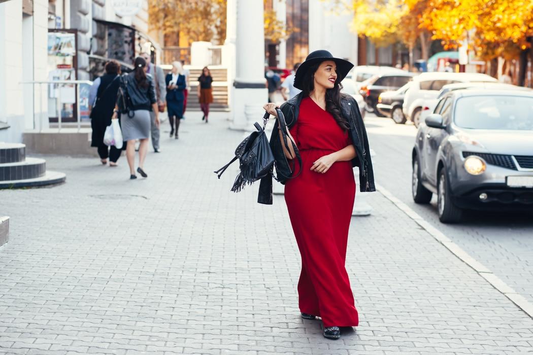 robe longue bohème femme ronde