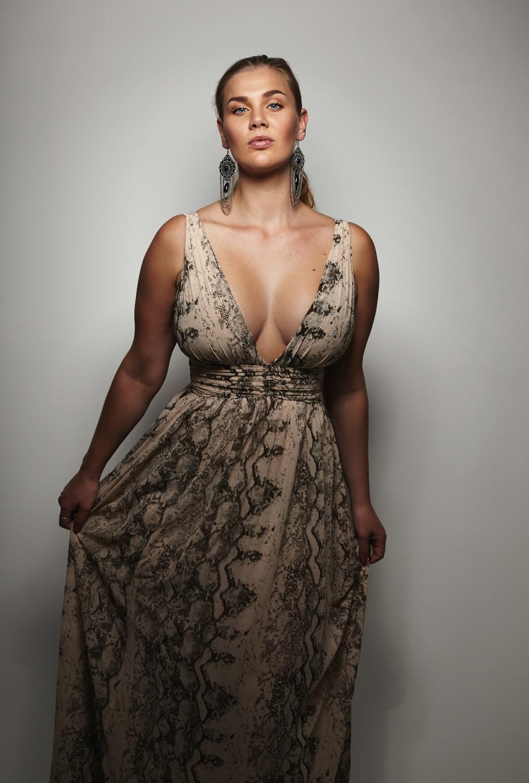 robe boheme femme ronde